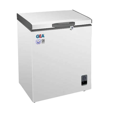 Freezer Gea Ab 210 jual gea ab 106 chest freezer jabodetabek
