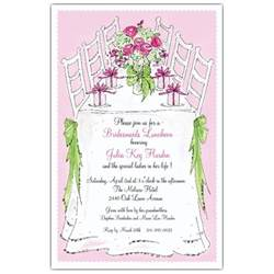 bridesmaid invitation templates bridesmaids luncheon invitations paperstyle