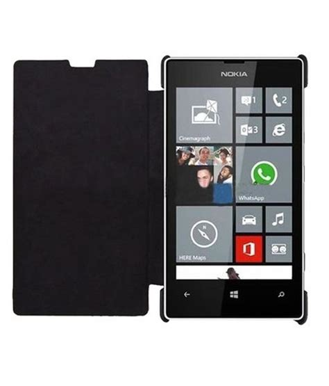 Flip Nokia 635 aptroid flip cover for nokia lumia 630 635 flip covers at low prices snapdeal india