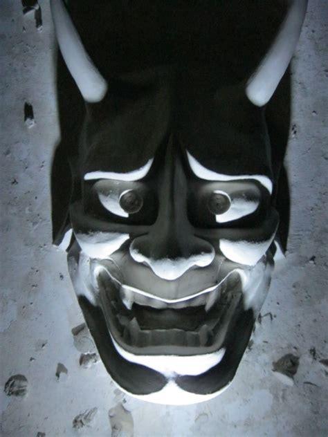 hannya mask tattoo wallpaper oni mask wallpaper wallpapersafari