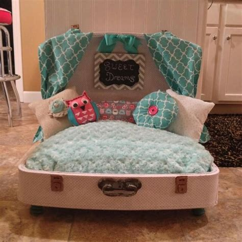 suitcase dog bed best 25 suitcase dog beds ideas on pinterest puppy beds