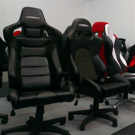 Car Seat Office Chair by Adjustable Back Office Racing Chairs With Race Car