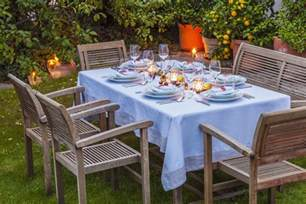 Patio Table Tablecloths by Pretty And Practical Outdoor Tablecloths