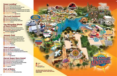 universal orlando map islands of adventure map orlando theme park talk