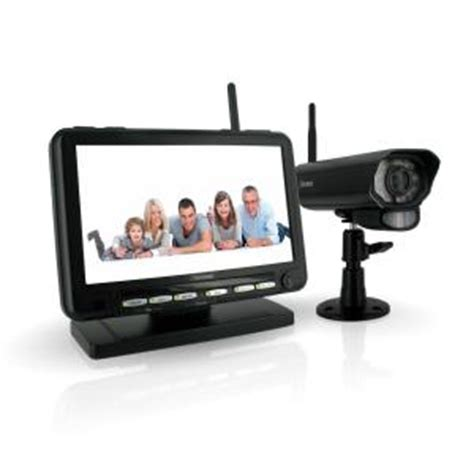 defender digital wireless dvr security system with 7 in