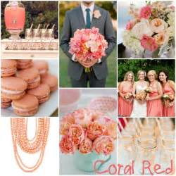 coral wedding colors coral wedding color happily after