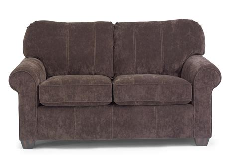flexsteel thornton upholstered seat with rolled arms