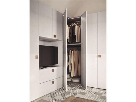 armadio frassino bianco armadio moderno angolare in frassino bianco su misura