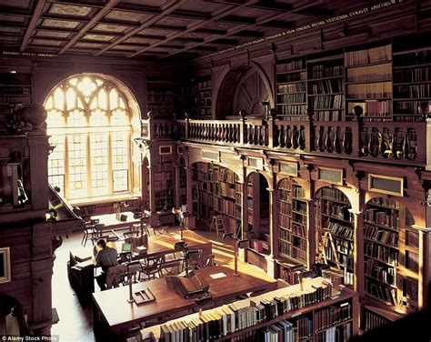 Circular Bookcase Inside The Most Incredible Libraries In Britain Daily