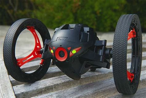 parrot jumping sumo app enabled mini drone gadgetsin