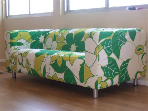 ikea floral couch decor using beautiful klippan sofa cover for comfy