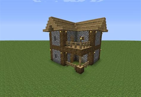 easy build homes an easy to make minecraft house minecraft pinterest