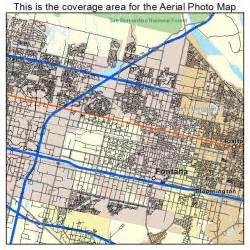 map of fontana california aerial photography map of fontana ca california