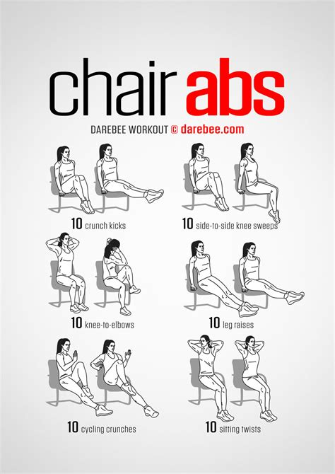 chair abs workout