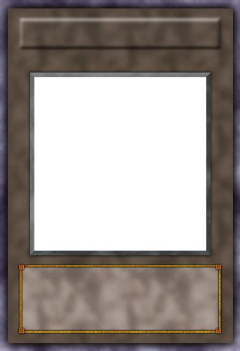 Blank Yugioh Card Template by Custom Synchro Blank By Pzychoz On Deviantart