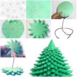 how to make 3d christmas tree step by step diy tutorial