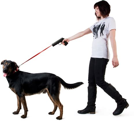 walking puppy retractable snap leash povodokus