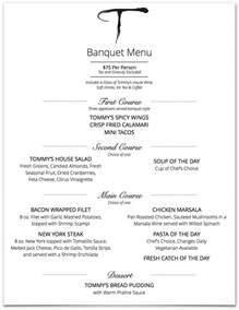 banquet menus tommy s restaurant in visalia ca lunch