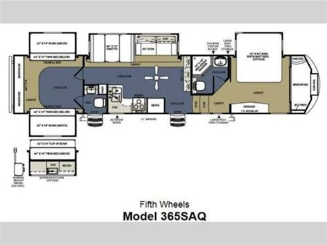 sierra rv floor plans 5th wheel 2 bathroom floor plans 2014 sierra 365saq