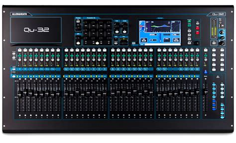 Mixer Allen Heath 32 Channel Bekas allen heath qu 32 32 channel digital mixing console