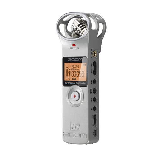 Zoom H1 Handy Recorder Zoom H1 Handy Recorder For Micro Sd Micro Sdhc Card Stereo Mic Line In Usb Mp3 Wav Silver
