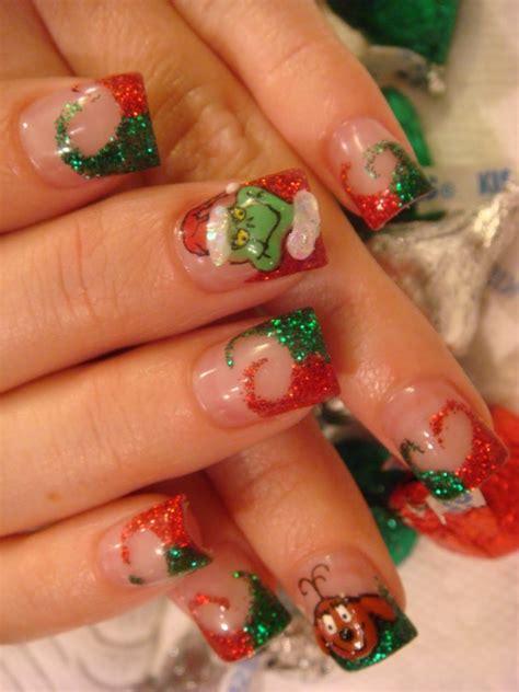 christmas themed nails christmas themed nail art designs