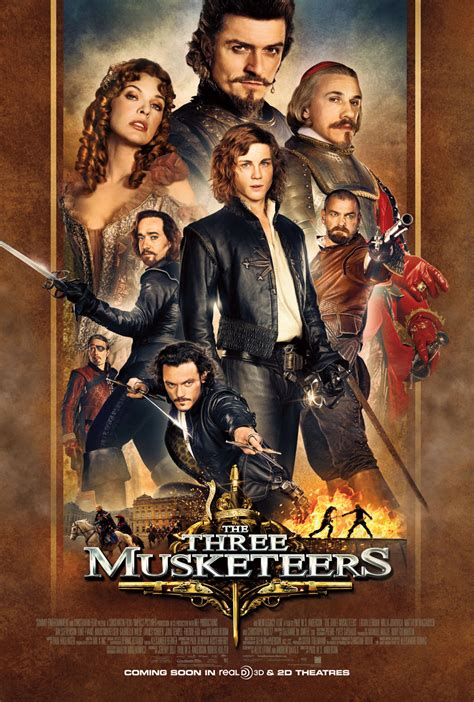 Three Musketeer mendelson s memos review paul w s s the three musketeers 2011 makes the