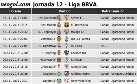 Calendario Liga Espanola Liga Bbva 2015 2016 Goleadores Calendar Template 2016