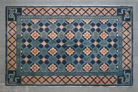 turtles rug no cl044 antique quot turtle back design quot rug age 19th century size 130x201cm 4 3 quot x6 7