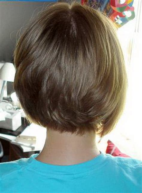 front and back view of bobstyle hair cut short hairstyles from the back