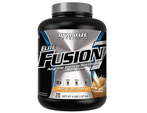 7 protein blend dymatize elite fusion 7 orange dreamsicle 7 protein blend