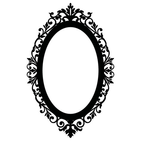 pattern frame drawing oval picture frame clip art clipart panda free clipart