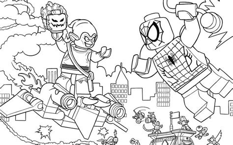 coloring pages of lego spiderman 293 best lego 174 coloring sheets images on pinterest