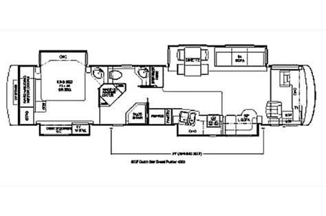 dutch star rv floor plans 2007 newmar dutch star 4320 photos details brochure