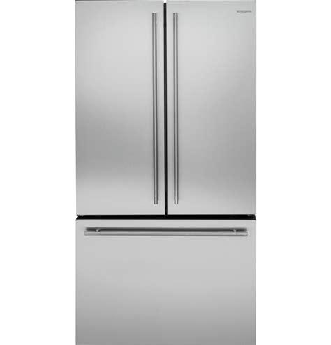 ge monogram cabinet depth refrigerator zwe23eshss monogram energy 174 23 1 cu ft counter
