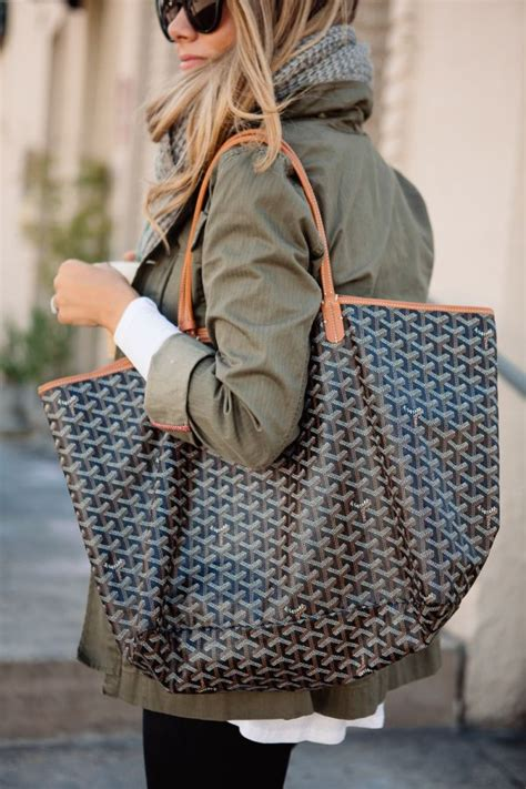 Goyard Tote By Edgy La Mode from barre to brunch sac sac de plage et