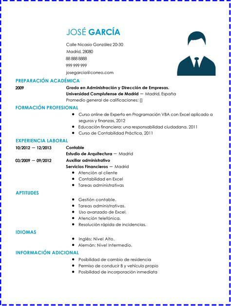 Modelo Curriculum Vitae De Un Contador 3 Modelos De Curriculums Vitae Para Un Contador
