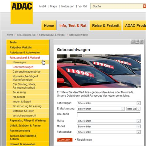 Schwacke Liste Adac Kostenlos by Schwacke Liste Vs Adac Co Gebrauchtwagen Bewertung