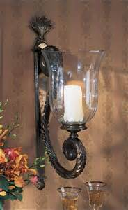 Wall Hurricane Candle Holders Candle Wall Sconces Large Candle Sconce And Large