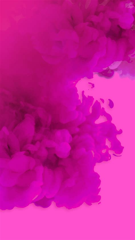 real pink smoke hd wallpaper   mobile phone