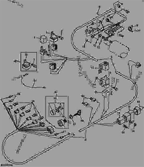 wiring diagram of 1999 deere 6x4 gator deere gator