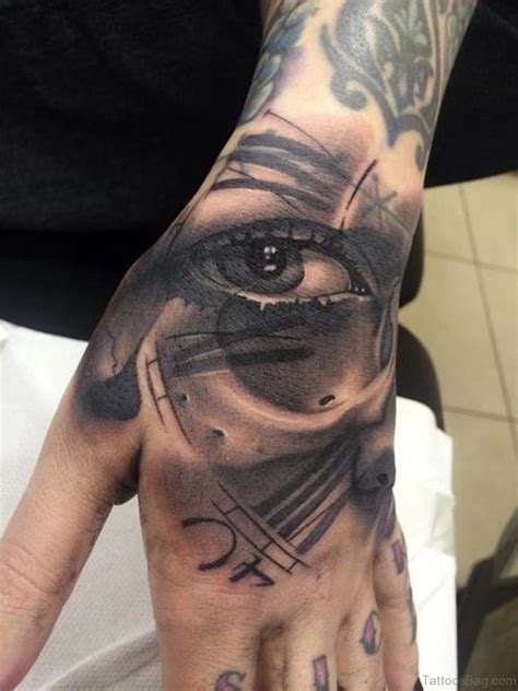tattoo eye and clock 47 excellent clock tattoos for hand