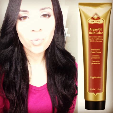one n only argan oil hair color demi permanent glossing cream one n only argan oil permanent hair color review youtube