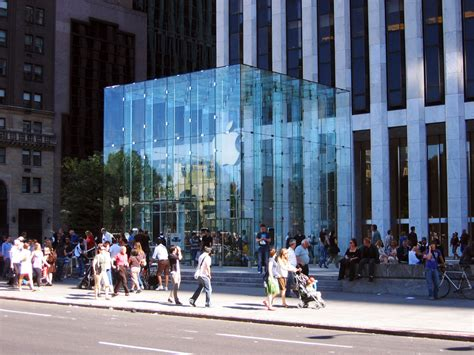 apple new york the apple store new york 5th avenue facadeworld