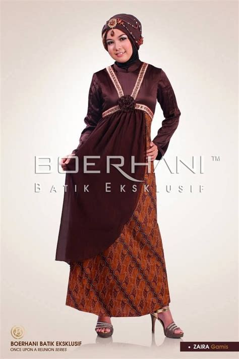52 best gamis batik images on styles dress muslimah and moslem fashion
