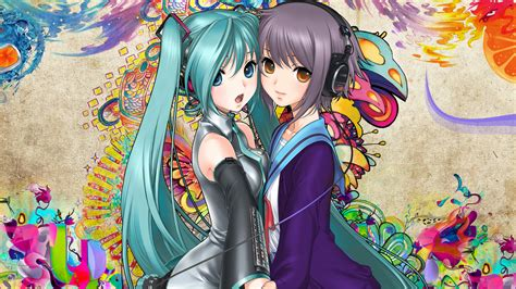 Kaos Hatsune Miku Vocaloid Blue Anime Best Selling Premium vocaloid hatsune wallpaper 1920x1080 wallpoper