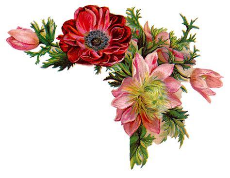 flower design pictures antique images free digital flower images of corner