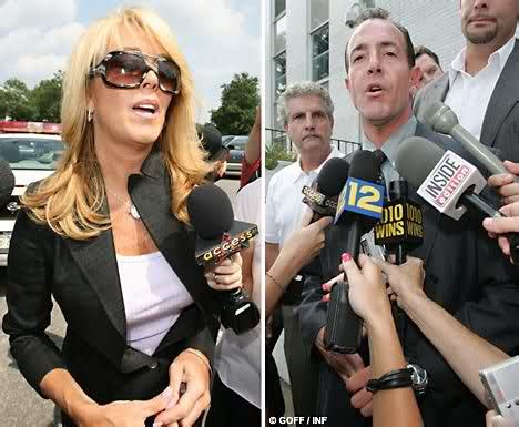 Dina Lohans Hiding Somewhere by Dina Lohan Paying Michael To Stop Talking To The