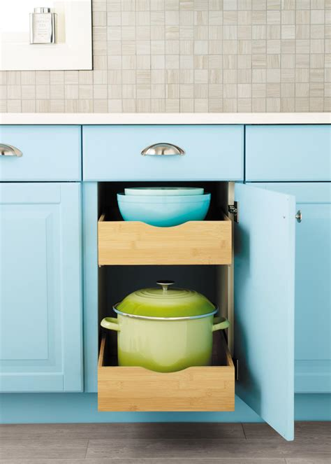 Bamboo Roll Out Cabinet Drawers by Photo Page Hgtv