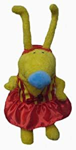 amazoncom disney bunnytown  yellow plush doll toys